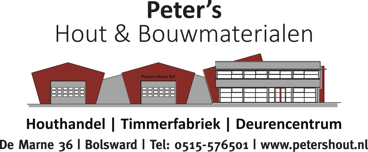 Peters logo diensten adres